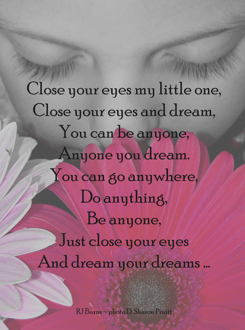 Dream your Dreams ~ Inspirational Poem for Children/Dreamers « The ...