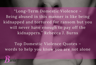 Top Domestic Violence Quotes – words to help you know you are not alone